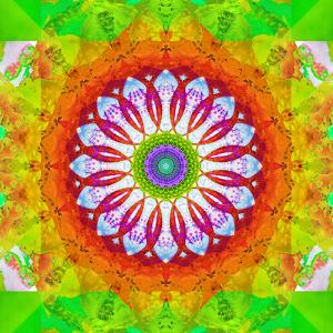 Mandala, Colourful, 'Happy Happy Happy of Mandala' by Alaya Gadeh