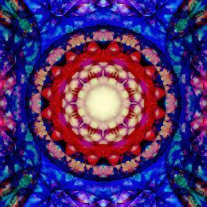 Mandala Ornament from Flowers by Alaya Gadeh