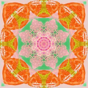 Orange Connection Mandala by Alaya Gadeh