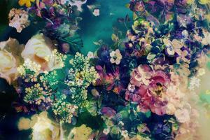 Poetic Flowers in Water by Alaya Gadeh