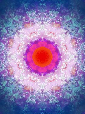 Symmetric Energetic Floral Montage of Flowers by Alaya Gadeh