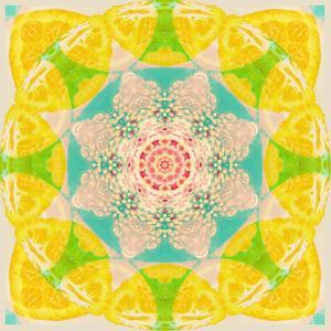Yellow Blossom Mandala by Alaya Gadeh