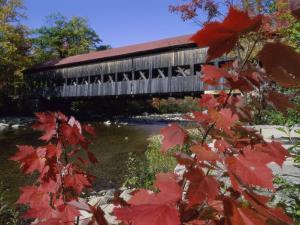 Albany Bridge Albany New Hampshire USA