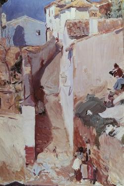 Albayzin in Granada, by Joaquin Sorolla Y Bastida
