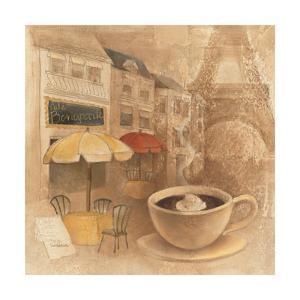 Cafe de Paris II by Albena Hristova
