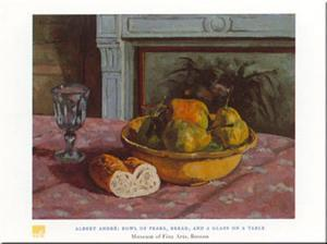 Bowl Of Pears by Albert Andre