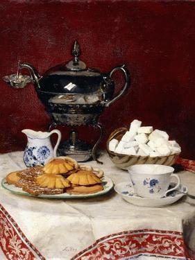 Still Life: Tasteful Tea, 1897 by Albert Anker