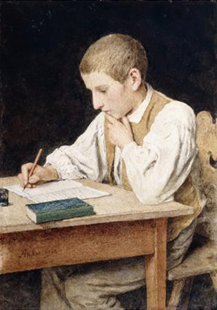 Writing Boy, 1902