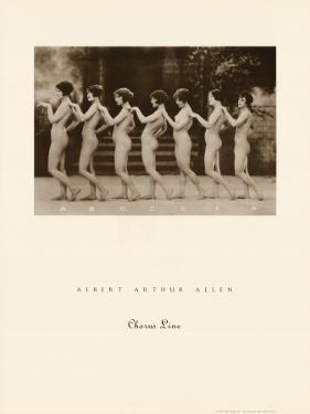 Chorus Line by Albert Arthur Allen