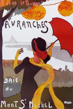 Albert Bergevin Avranches Art Print Poster