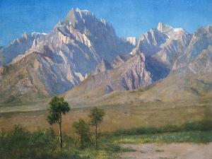 Camp Independence, Colorado, 1873 by Albert Bierstadt