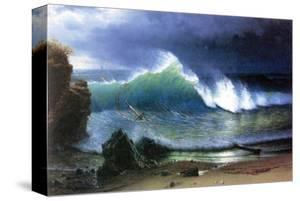 Coast of Emerald Lake by Albert Bierstadt