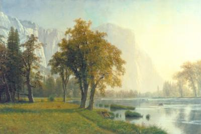 El Capitan, Yosemite Valley, California, 1875 by Albert Bierstadt