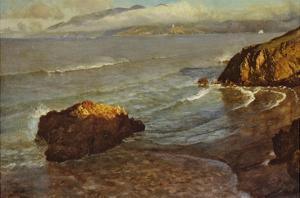 Entrance to the Golden Gate by Albert Bierstadt