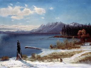 Lake Tahoe by Albert Bierstadt