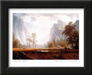 Looking Up the Yosemite Valley by Albert Bierstadt