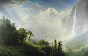 Majesty of the Mountains by Albert Bierstadt