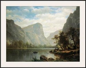 Mirror Lake, Yosemite Valley by Albert Bierstadt
