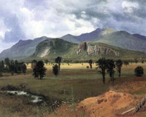 Moat Mountain, New Hampshire by Albert Bierstadt