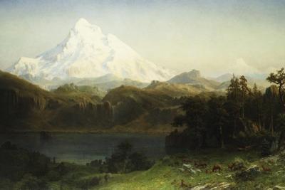 Mount Hood in Oregon by Albert Bierstadt