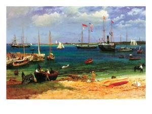 Nassau Port by Albert Bierstadt