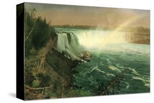 Niagara by Albert Bierstadt