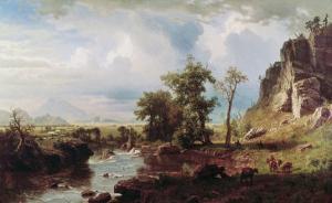 Platte River, c.1863 by Albert Bierstadt