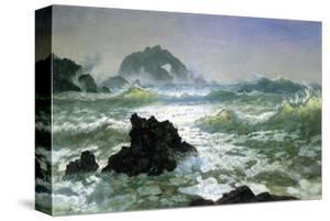 Seal Rock, California by Albert Bierstadt
