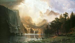 Sierra Nevada in California by Albert Bierstadt