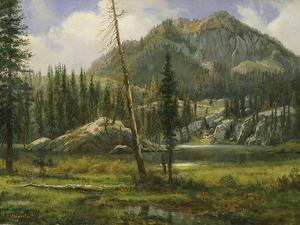Sierra Nevada Mountains by Albert Bierstadt