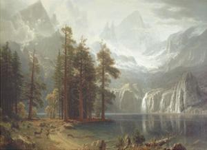 Sierra Nevada by Albert Bierstadt