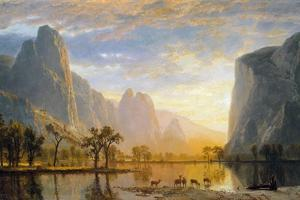 Valley of the Yosemite by Albert Bierstadt