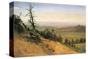 Wasatch Mountain, Nebraska by Albert Bierstadt