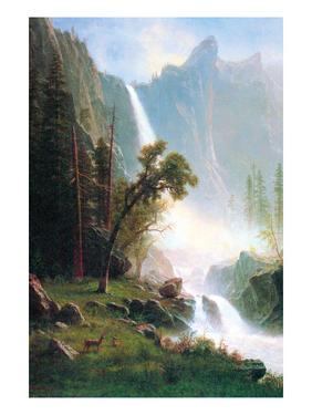 Yosemite Falls by Albert Bierstadt