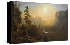 Yosemite Valley, Glacier Point Trail, ca. 1873 by Albert Bierstadt