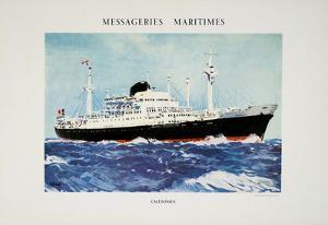 Mess Maritimes - Caledonien by Albert Brenet