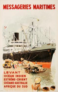 Mess Maritimes - Levant Fren by Albert Brenet