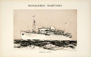 Mess Maritimes - Marechal Joffre by Albert Brenet
