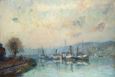 From the Boathouse, Outskirts of Rouen