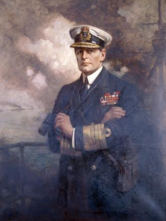 Admiral of the Fleet, the Earl Beatty, 1920 by Albert Chevallier Tayler