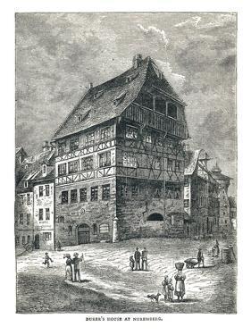 Albert Durers House, Nuremberg, Germany, 1893