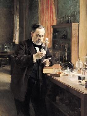 Louis Pasteur (1822-95) in His Laboratory, 1885 by Albert Edelfelt