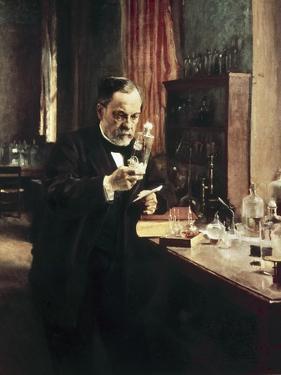 Louis Pasteur by Albert Edelfelt