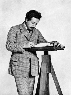 Albert Einstein (1879-195), German-Swiss Mathematician and Theoretical Physicist, 1905