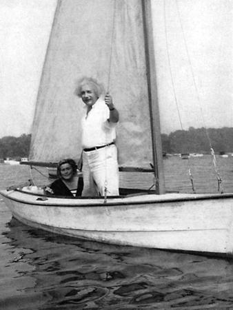 Albert Einstein (1879-195), German-Swiss Mathematician and Theoretical Physicist, C1930S
