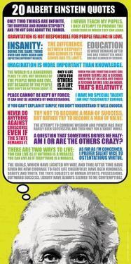 Albert Einstein- 20 Quotes