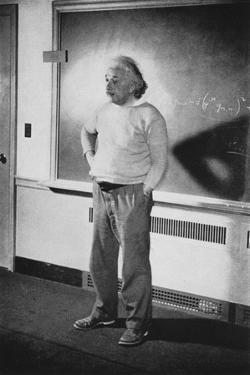 Albert Einstein, German-Swiss-American Mathematician and Physicist, 1940