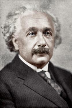Albert Einstein, German-Swiss Mathematician and Theoretical Physicist, C1930S