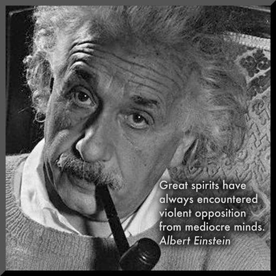 Albert Einstein--Mounted Print