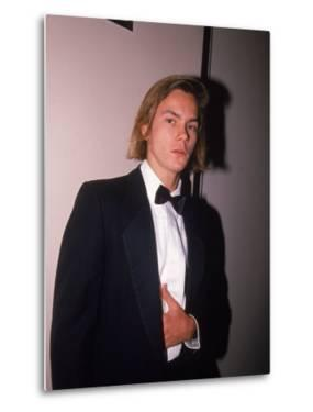 Actor River Phoenix in a Tuxedo by Albert Ferreira